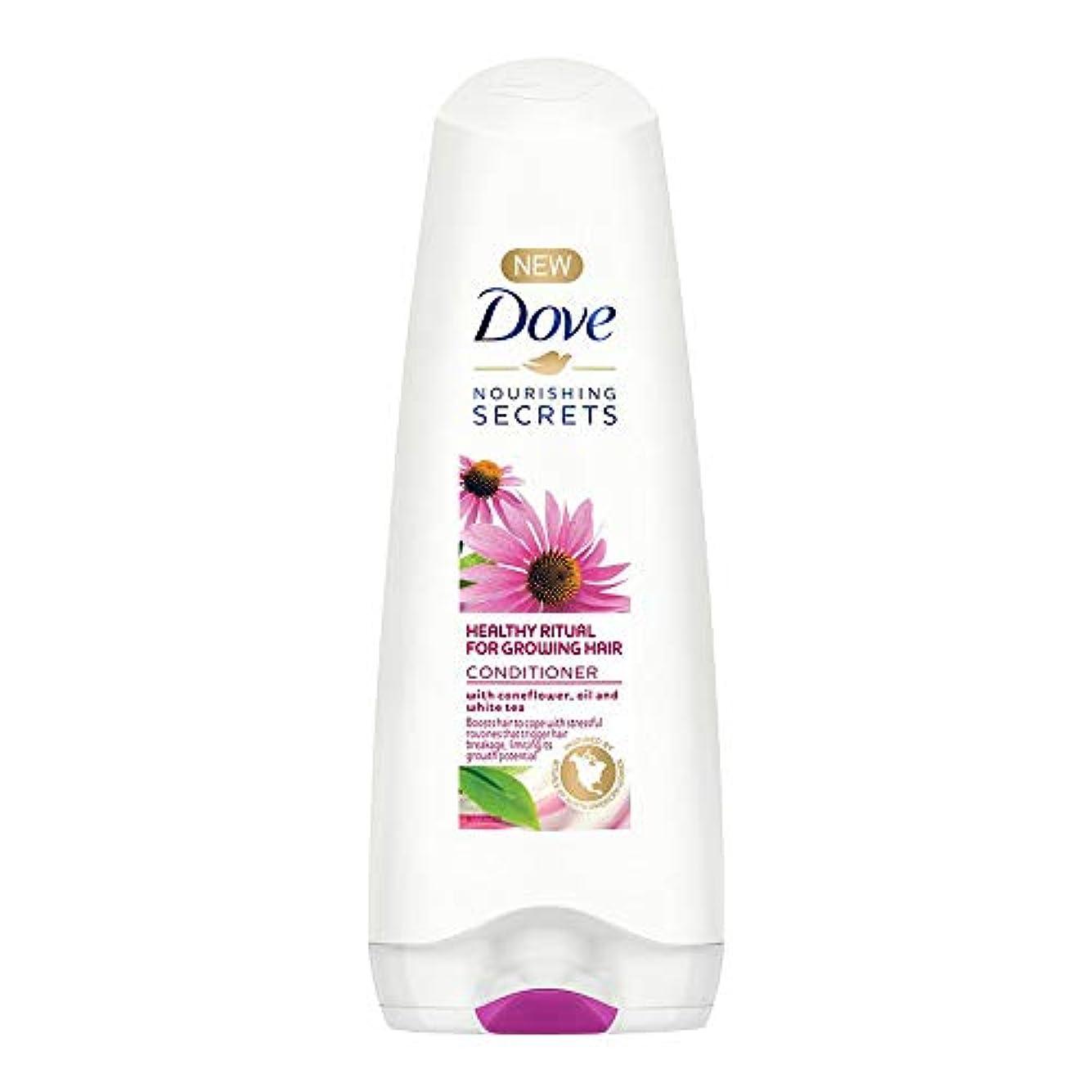 セーブ援助電卓Dove Healthy Ritual for Growing Hair Conditioner, 180 ml (Coneflower, Oil and White Tea)