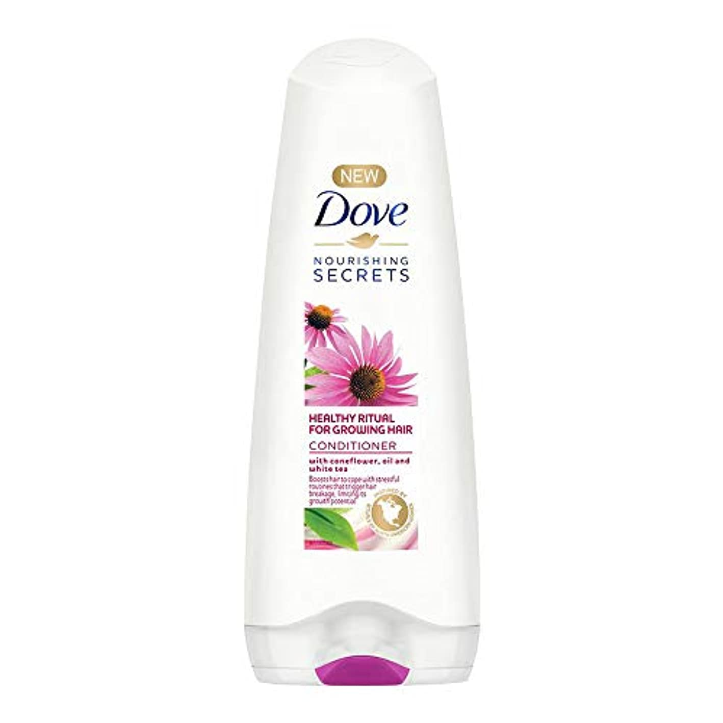 端させる性格Dove Healthy Ritual for Growing Hair Conditioner, 180 ml (Coneflower, Oil and White Tea)