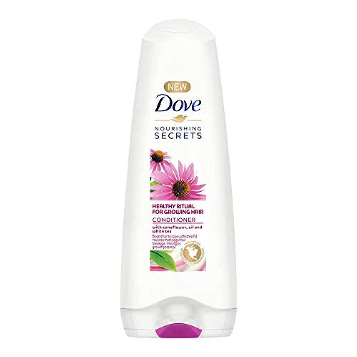 緑領事館製油所Dove Healthy Ritual for Growing Hair Conditioner, 180 ml (Coneflower, Oil and White Tea)