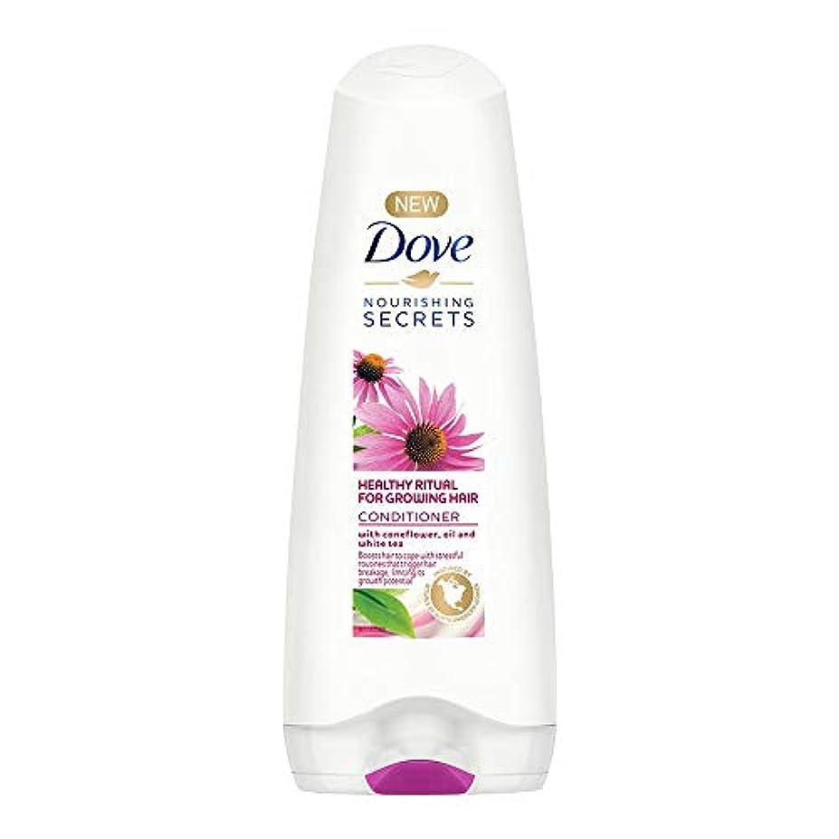 言い訳コミット取り壊すDove Healthy Ritual for Growing Hair Conditioner, 180 ml (Coneflower, Oil and White Tea)