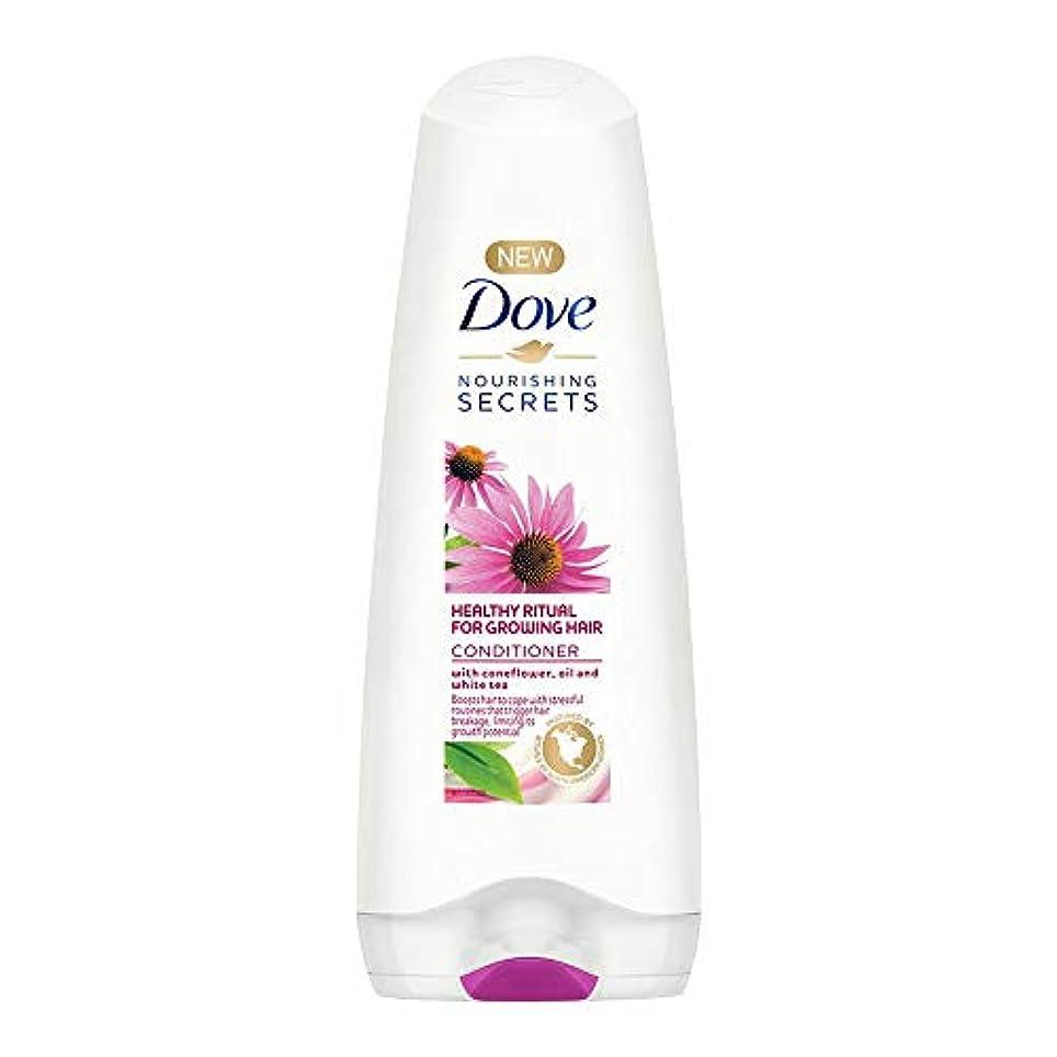 リベラル放射性社会主義者Dove Healthy Ritual for Growing Hair Conditioner, 180 ml (Coneflower, Oil and White Tea)