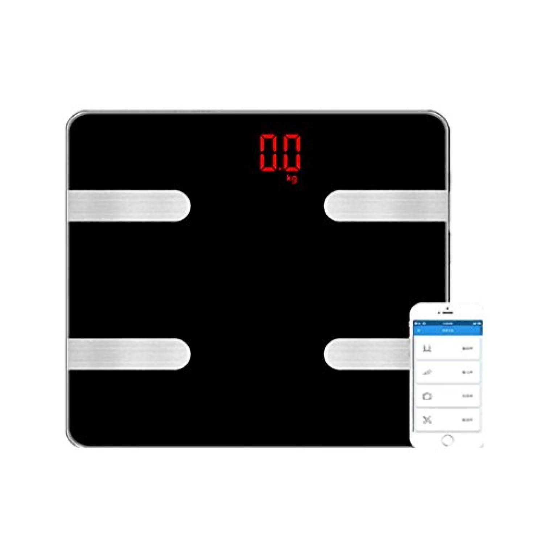 体重計 体脂肪計 スマートスケール Bluetooth 体重計 強化ガラス ダイエット 肥満の予防 健康管理 iPhone/Androidアプリで 日本語対応APP