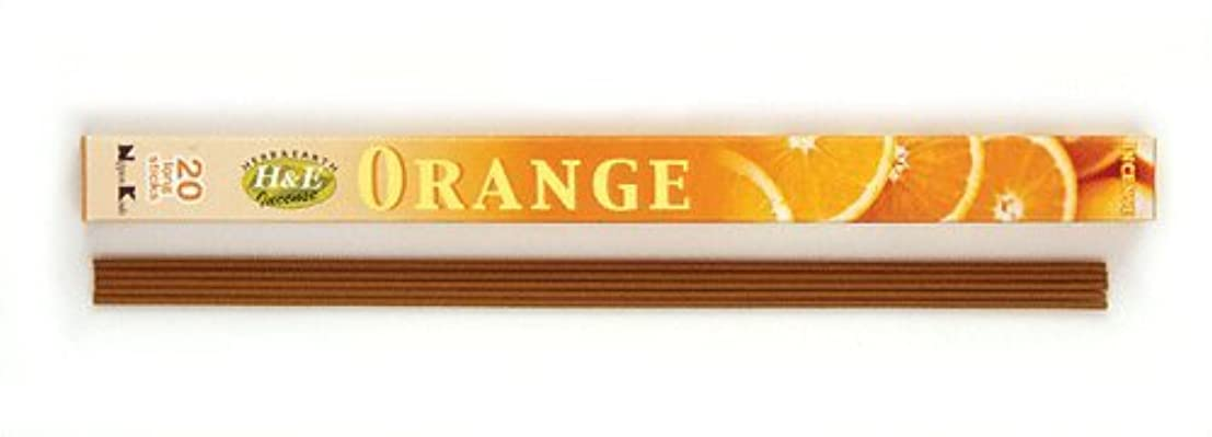 単に主婦車HERB&EARTH Incense ORANGE オレンジ スティック 【お香】