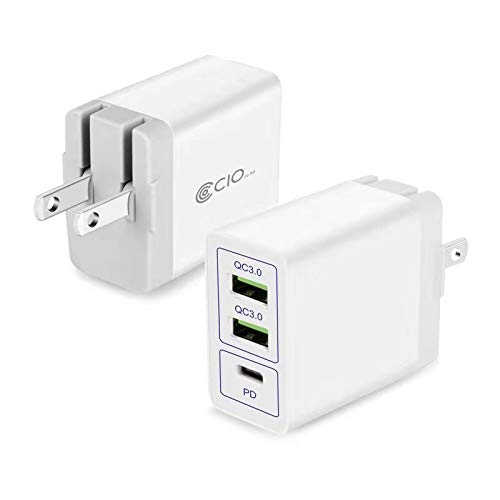 PD 充電器 USB 3ポート QC3.0 急速充電器 タイプC 小型 iP...