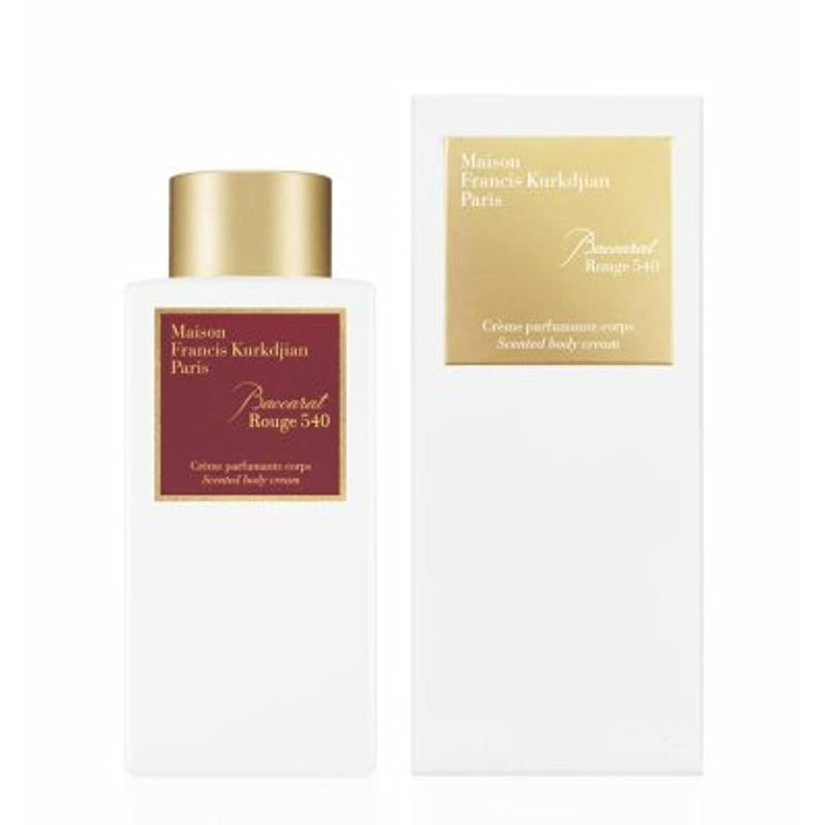 シェーバー素晴らしき貴重なメゾン フランシス クルジャン バカラ ルージュ 540 センテッド ボディクリーム 250ml(Maison Francis Kurkdjian Baccarat Rouge 540 Scented Body Cream...