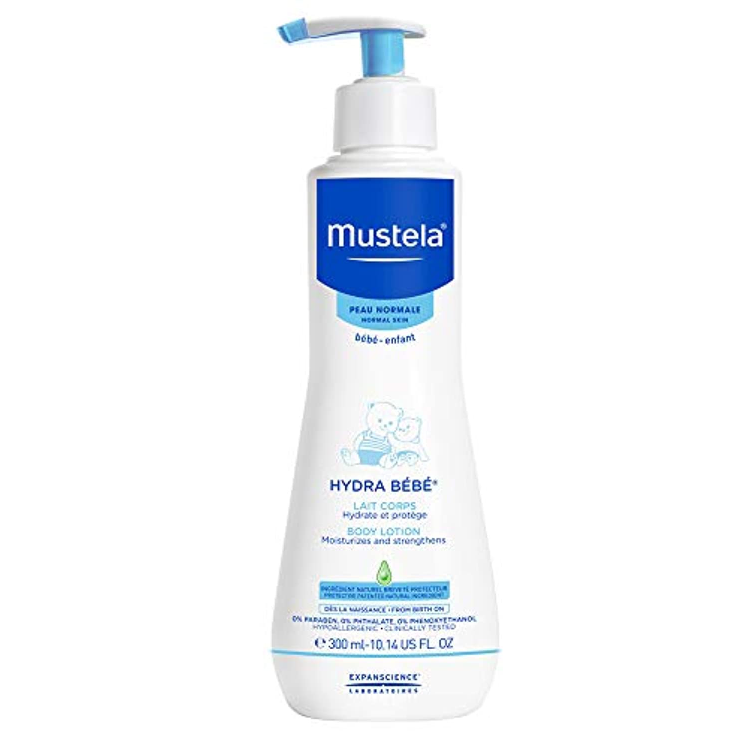 動かない人種表現Mustela Hydra-Bebe Body Lotion 300ml