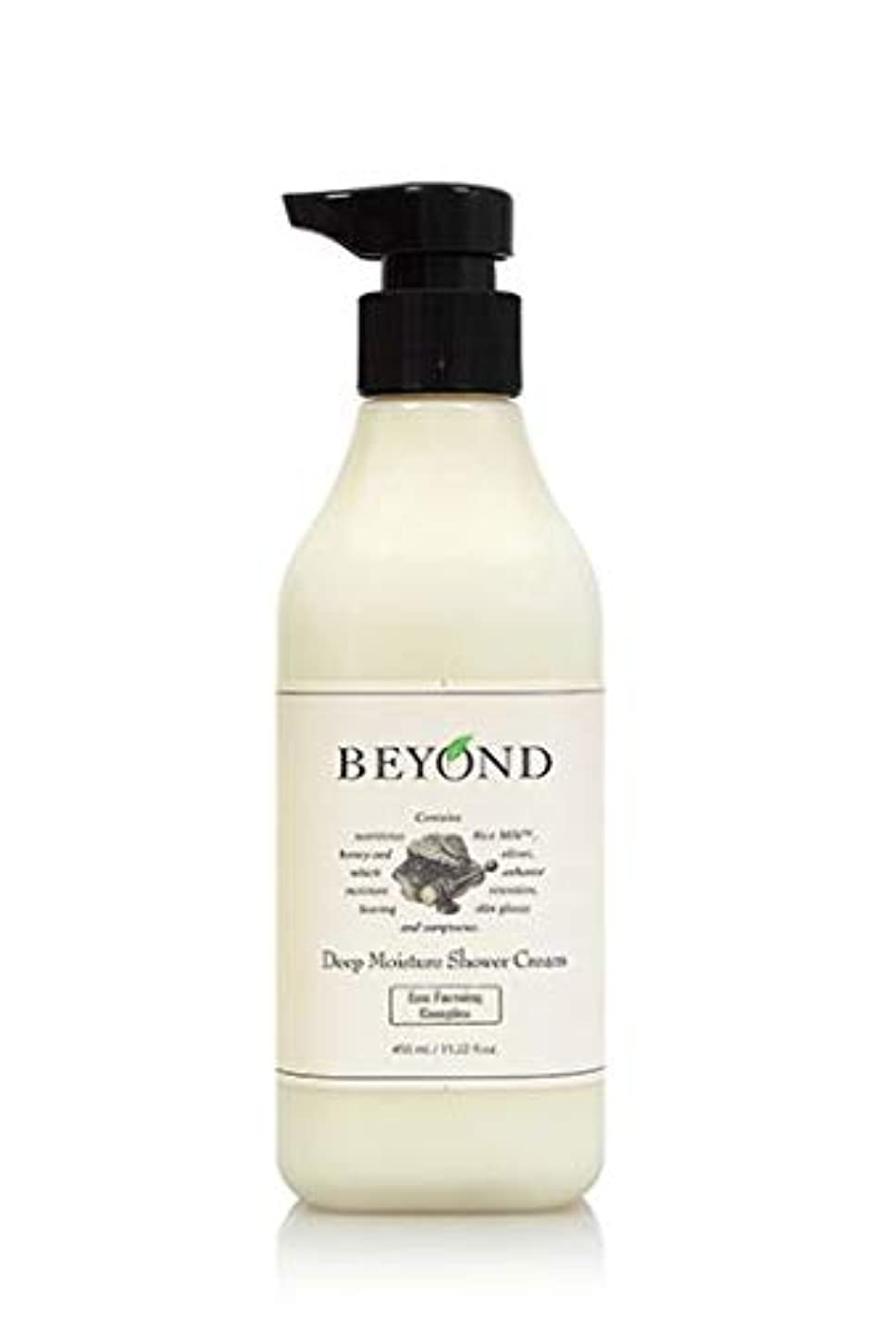 花弁柔らかさ活性化する[ビヨンド] BEYOND [ディープモイスチャー シャワークリーム 450ml] Deep Moisture Shower Cream 450ml [海外直送品]