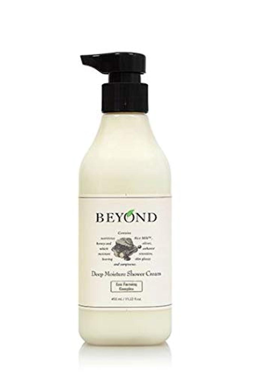 男らしい安心させる特徴[ビヨンド] BEYOND [ディープモイスチャー シャワークリーム 450ml] Deep Moisture Shower Cream 450ml [海外直送品]