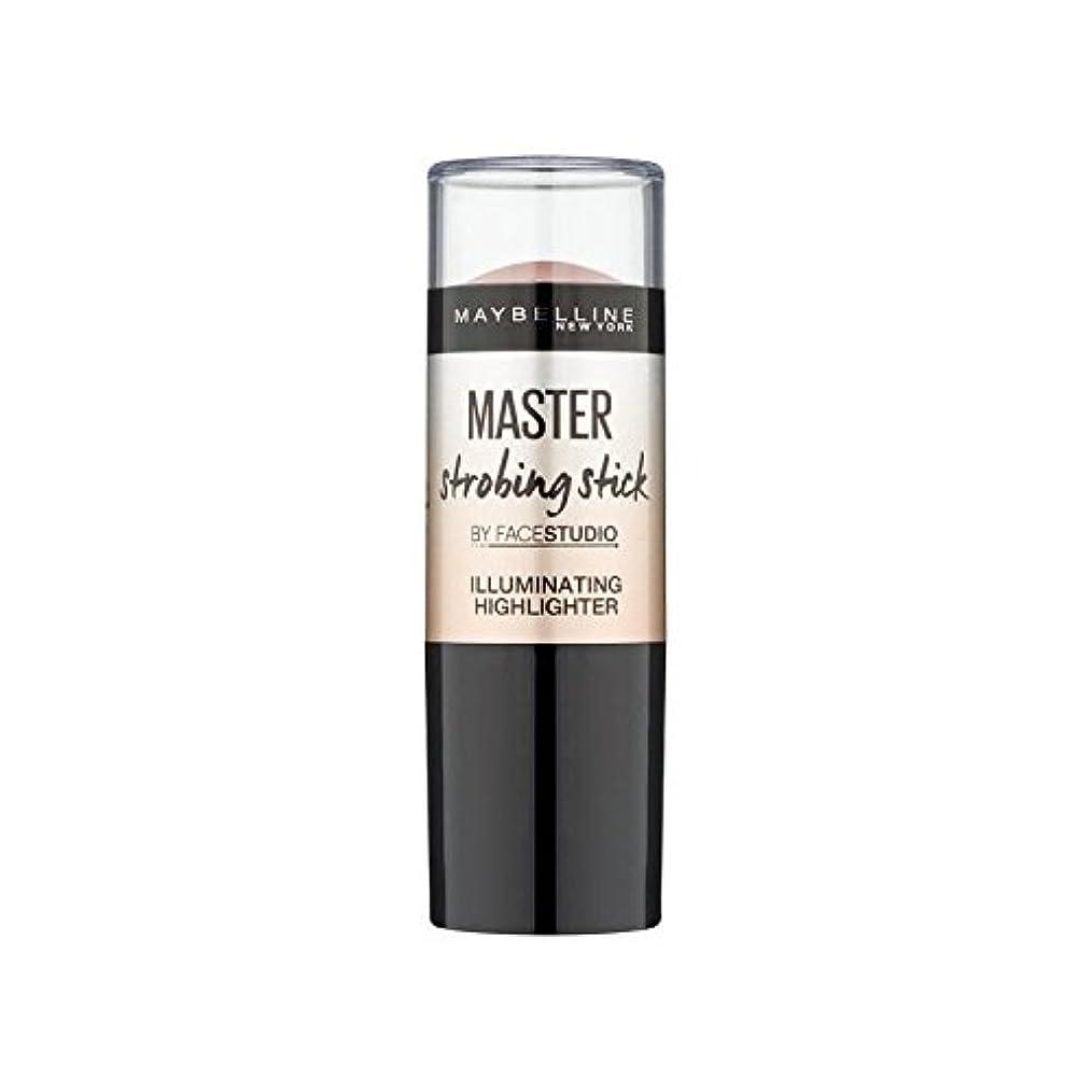 陸軍傾斜最後のMaybelline Master Strobing Stick Light (Pack of 6) - メイベリンマスターストロボスティックライト x6 [並行輸入品]