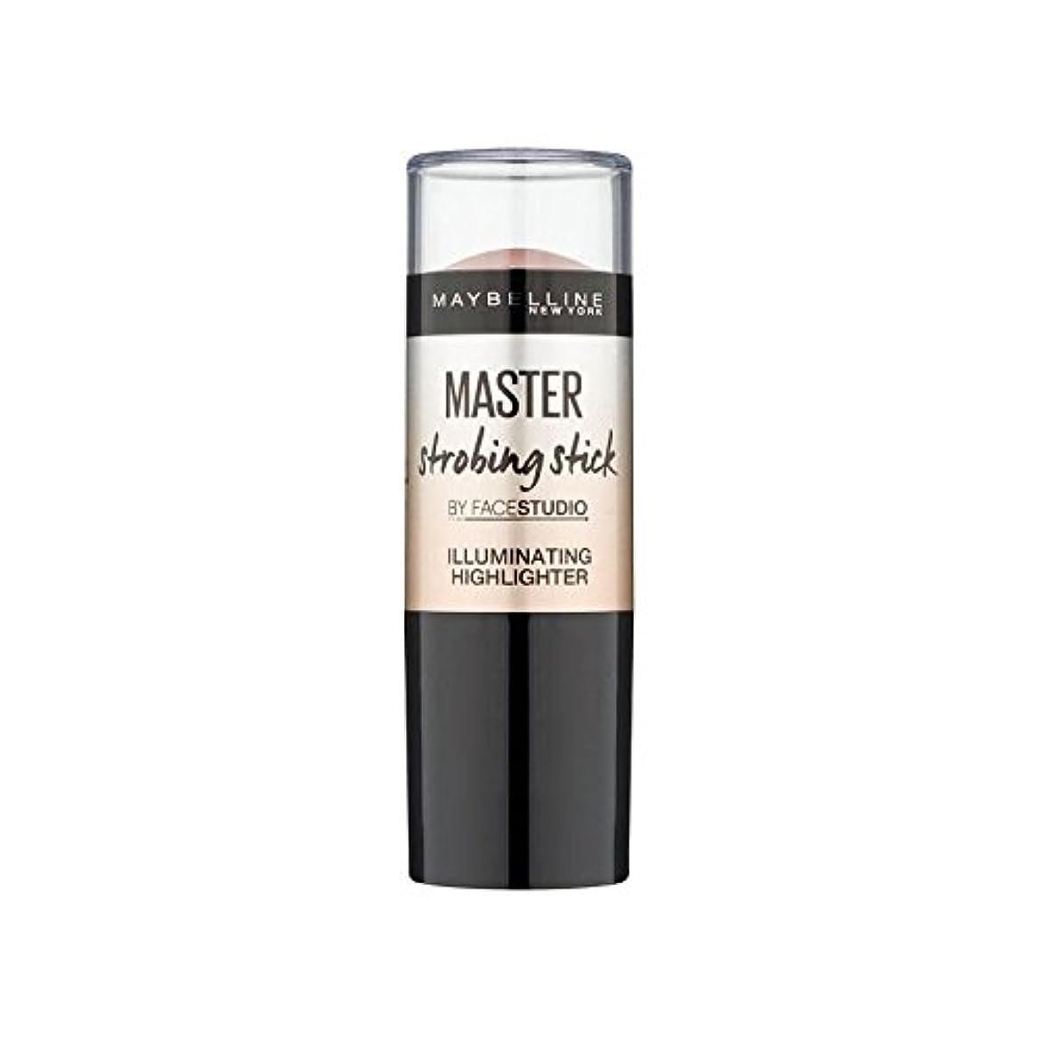 穿孔する会議エンゲージメントMaybelline Master Strobing Stick Light (Pack of 6) - メイベリンマスターストロボスティックライト x6 [並行輸入品]