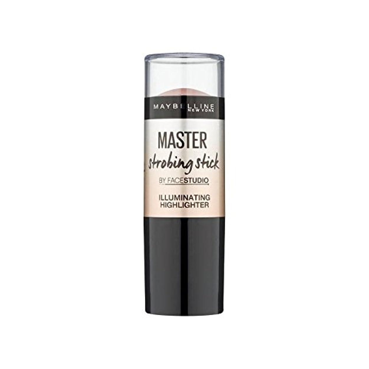 アンタゴニストニコチン信念Maybelline Master Strobing Stick Light (Pack of 6) - メイベリンマスターストロボスティックライト x6 [並行輸入品]