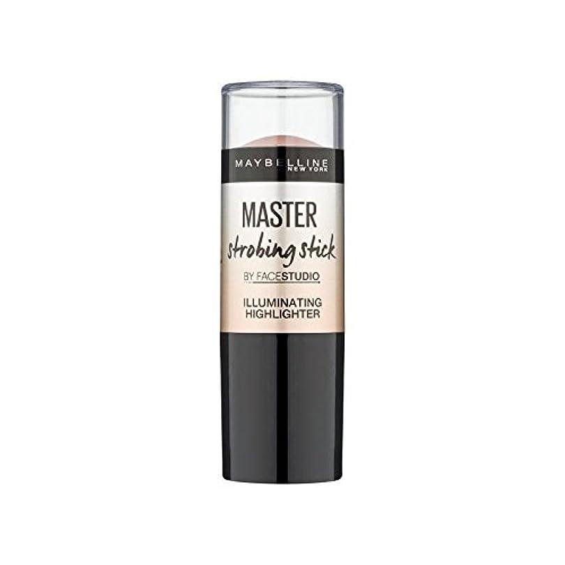 開梱ドール週間Maybelline Master Strobing Stick Light (Pack of 6) - メイベリンマスターストロボスティックライト x6 [並行輸入品]