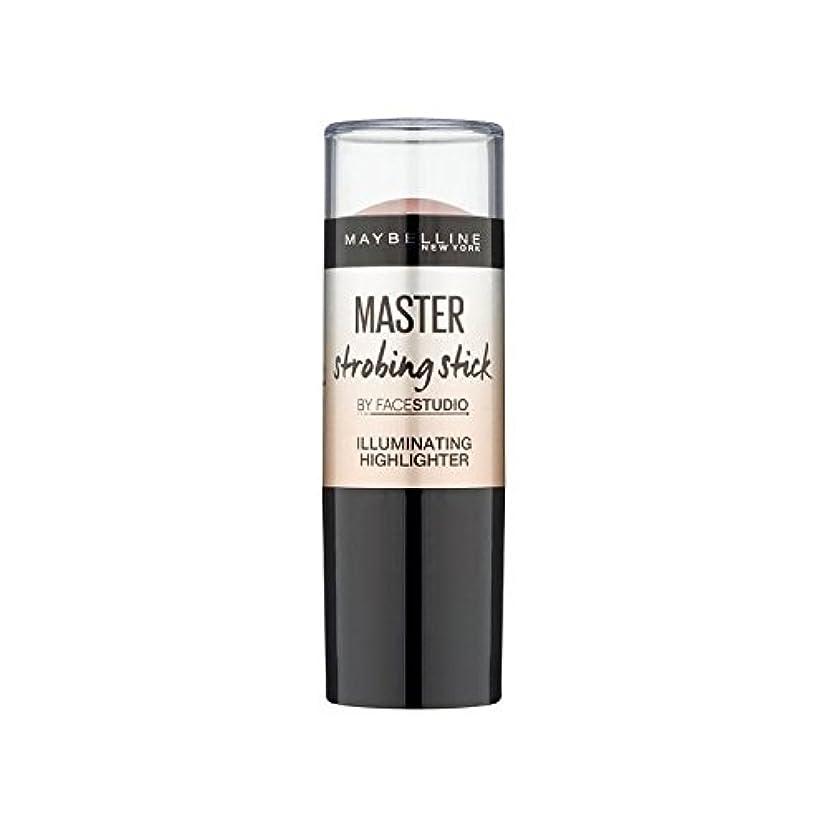 ふさわしい粗い無効Maybelline Master Strobing Stick Light (Pack of 6) - メイベリンマスターストロボスティックライト x6 [並行輸入品]