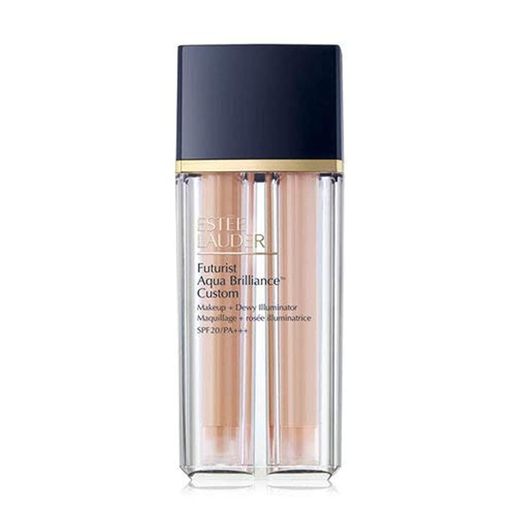 突っ込むリットルオリエントEstee Lauder(エスティローダー) Futurist Aqua Brilliance Custom Foundation & Illuminator Duo SPF20/PA+++ 15ml ×2EA #2CO...