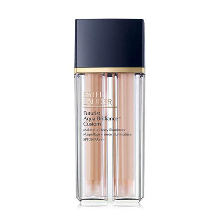 責できれば退屈Estee Lauder(エスティローダー) Futurist Aqua Brilliance Custom Foundation & Illuminator Duo SPF20/PA+++ 15ml ×2EA #2CO...