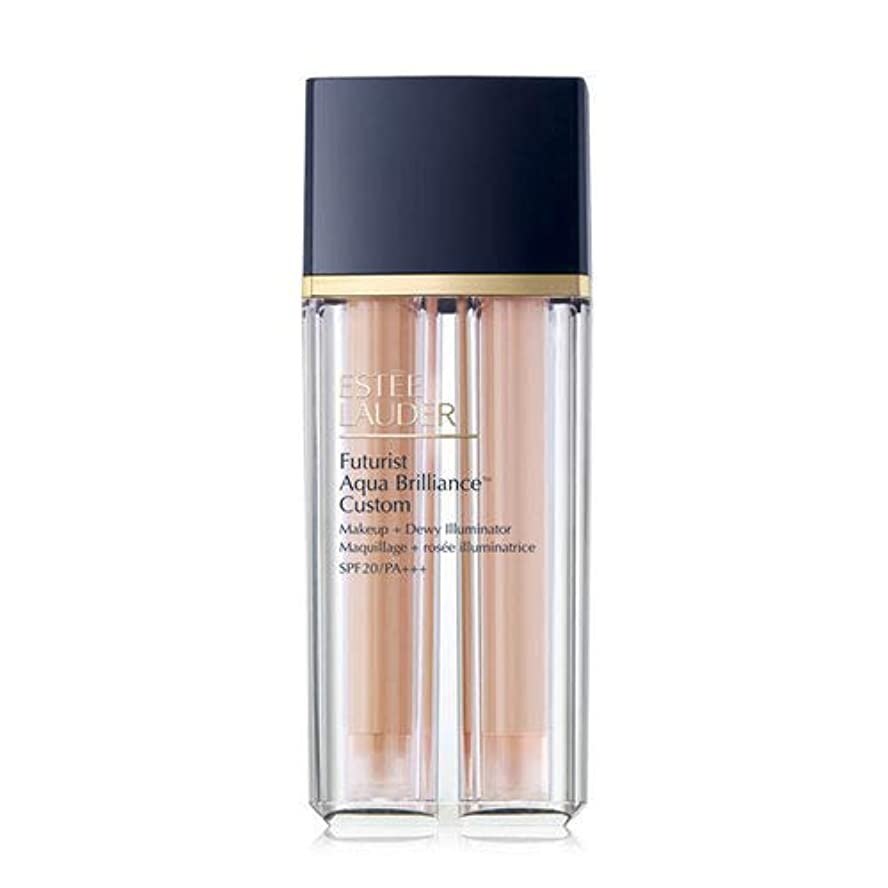 遊具グレートオークディンカルビルEstee Lauder(エスティローダー) Futurist Aqua Brilliance Custom Foundation & Illuminator Duo SPF20/PA+++ 15ml ×2EA #1C1...