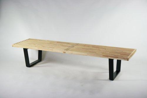 ネルソンベンチ 182.5x47.5x36.5(cm) ナチュラル