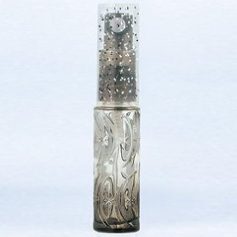 リーやがて常習的【ヤマダアトマイザー】ハンドメイドグラスアトマイザー プラスチックポンプ 70345 ムーンスターグラデ ブラック 約3.5ml