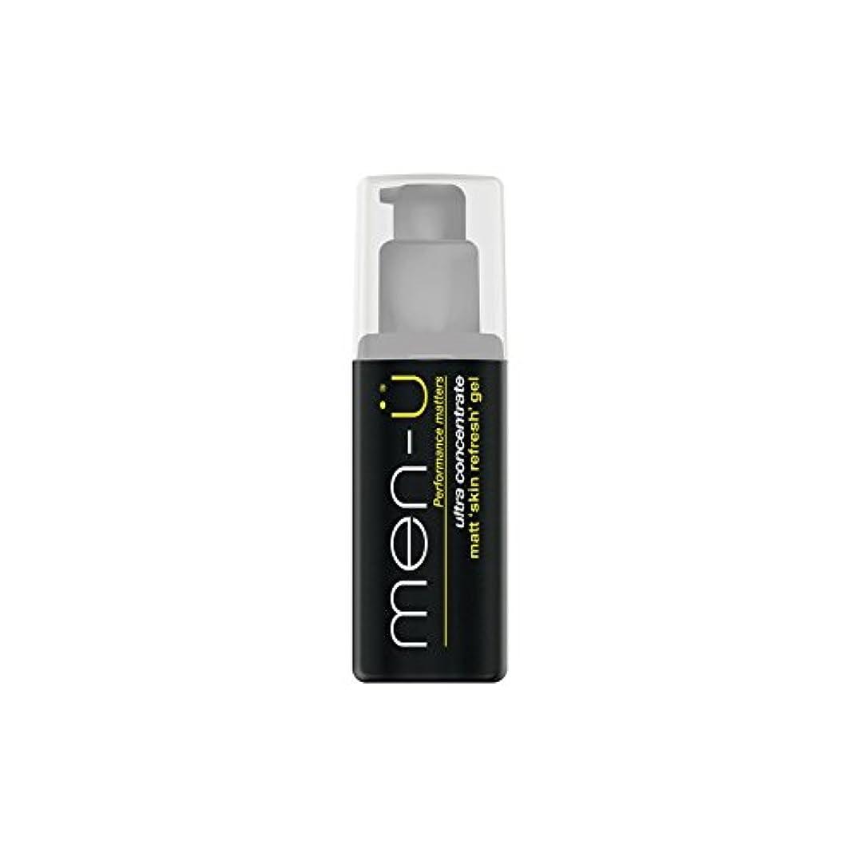家禽毛布設計図Men-? Matt Skin Refresh Gel (100ml) (Pack of 6) - 男性-?マット肌のリフレッシュジェル(100)に x6 [並行輸入品]