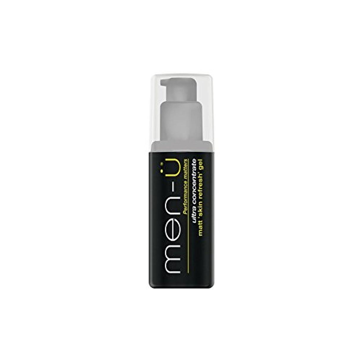 アパートスライス清めるMen-? Matt Skin Refresh Gel (100ml) (Pack of 6) - 男性-?マット肌のリフレッシュジェル(100)に x6 [並行輸入品]