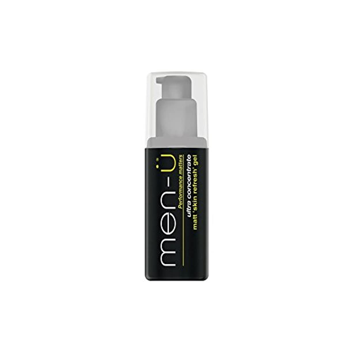 メロディーラジウムゲインセイMen-? Matt Skin Refresh Gel (100ml) (Pack of 6) - 男性-?マット肌のリフレッシュジェル(100)に x6 [並行輸入品]