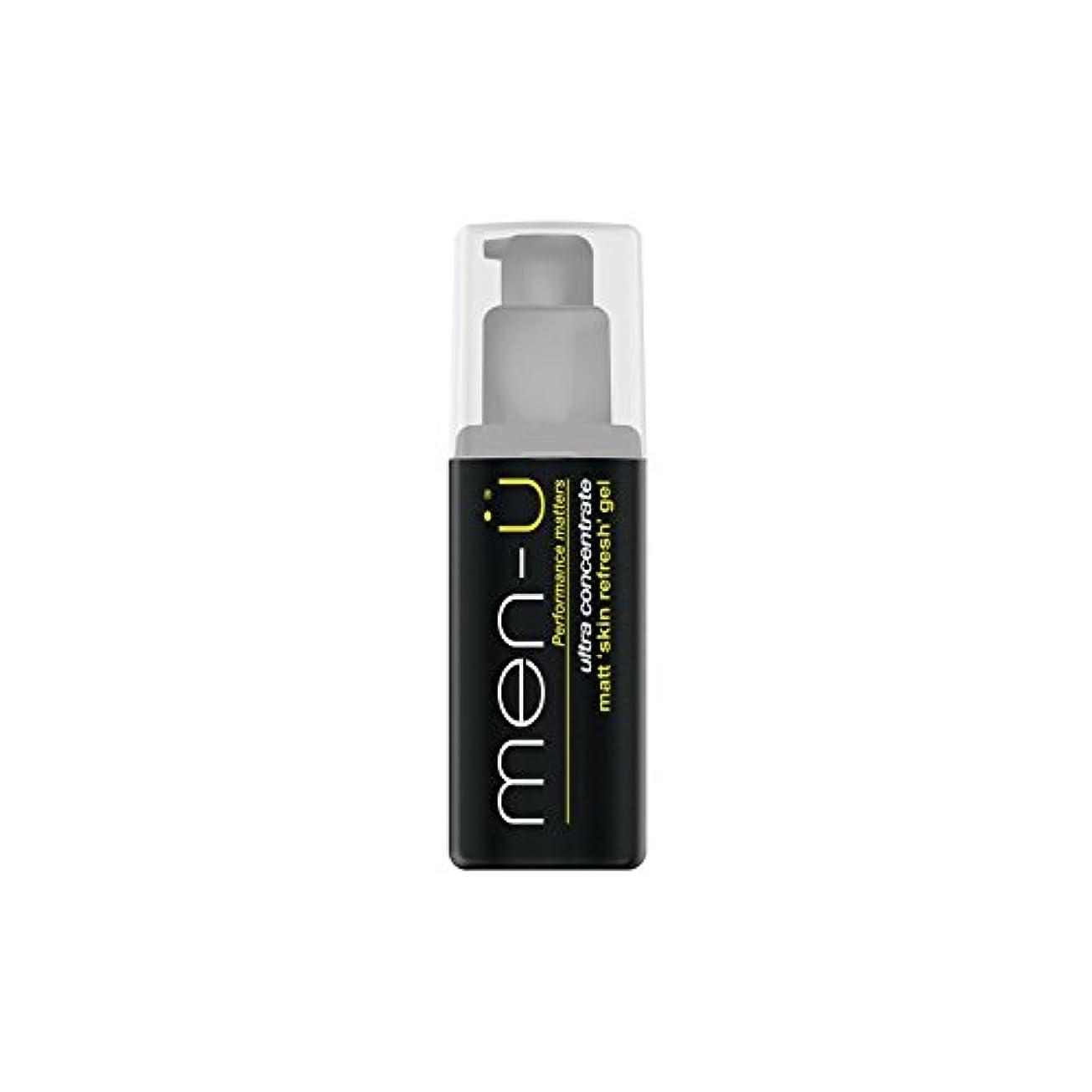 ケーブル唇農業のMen-? Matt Skin Refresh Gel (100ml) (Pack of 6) - 男性-?マット肌のリフレッシュジェル(100)に x6 [並行輸入品]