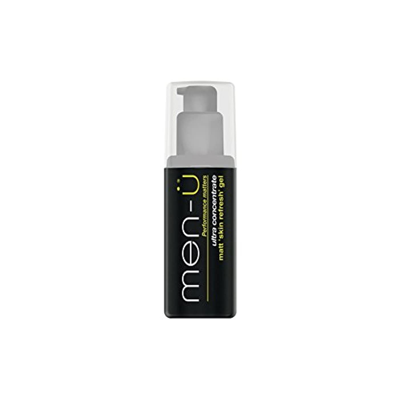 Men-? Matt Skin Refresh Gel (100ml) (Pack of 6) - 男性-?マット肌のリフレッシュジェル(100)に x6 [並行輸入品]