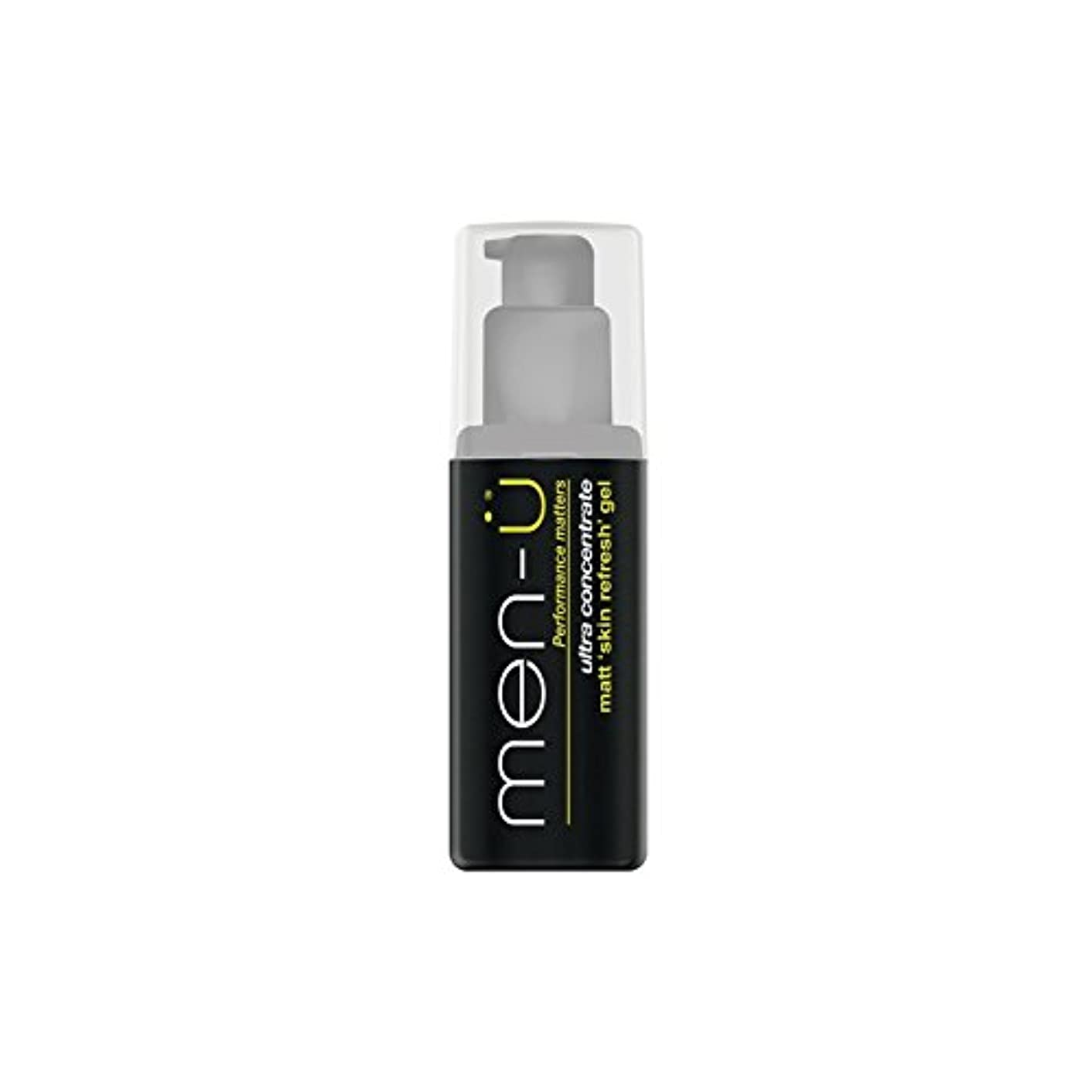 スチール通行料金ワームMen-? Matt Skin Refresh Gel (100ml) (Pack of 6) - 男性-?マット肌のリフレッシュジェル(100)に x6 [並行輸入品]