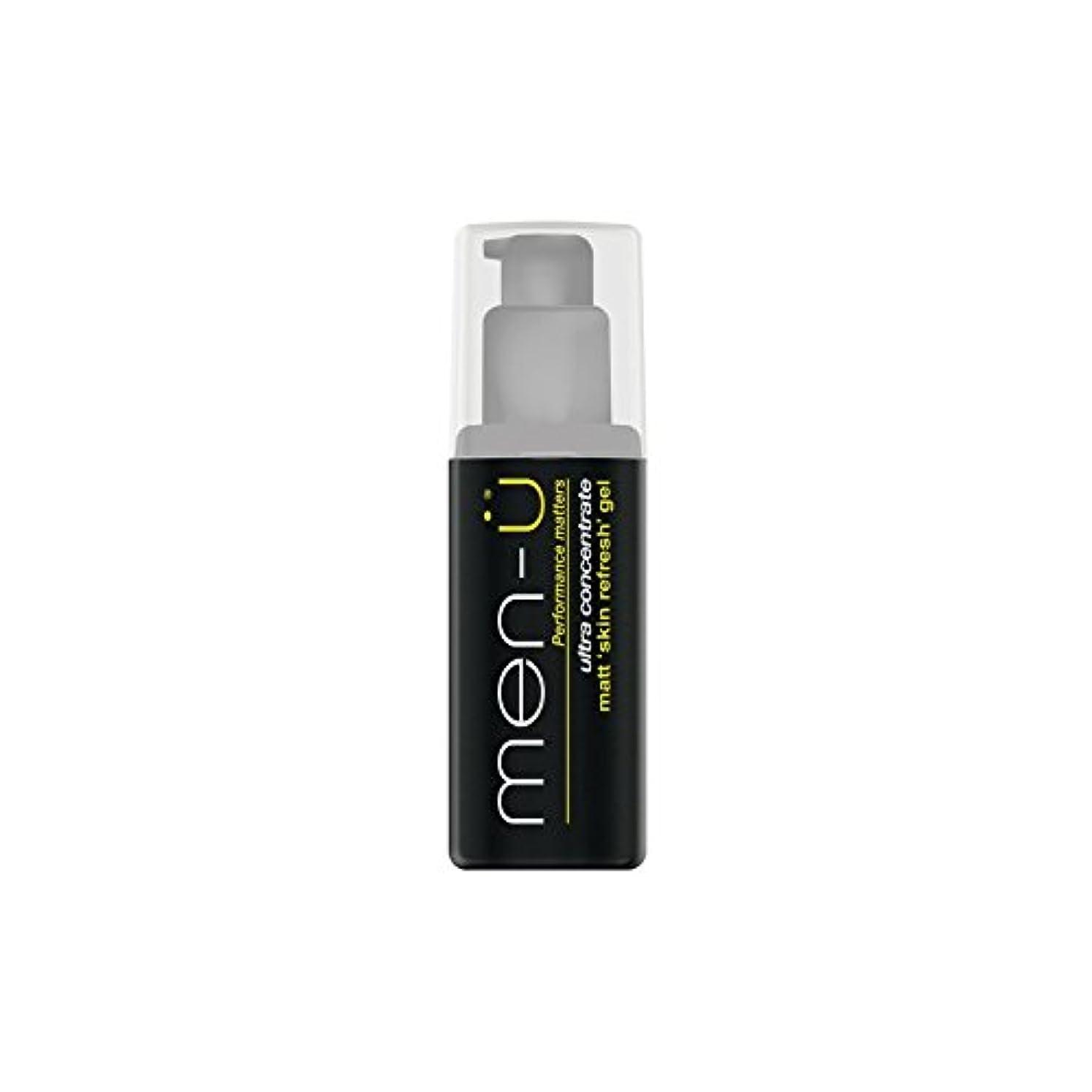 火傷あざ口述するMen-? Matt Skin Refresh Gel (100ml) (Pack of 6) - 男性-?マット肌のリフレッシュジェル(100)に x6 [並行輸入品]
