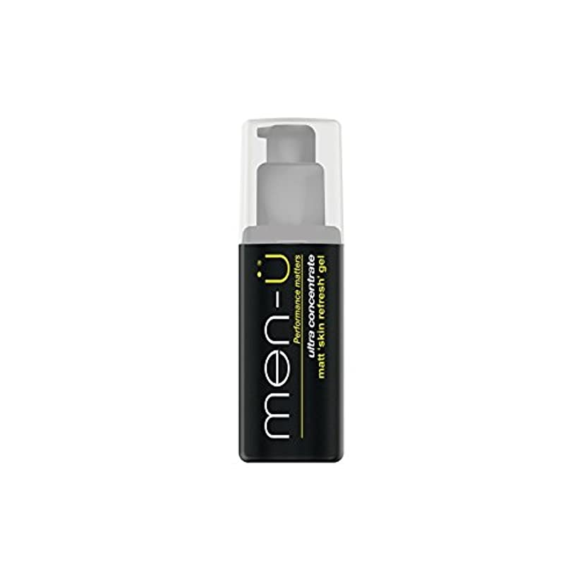 許容できる拍手するきつくMen-? Matt Skin Refresh Gel (100ml) (Pack of 6) - 男性-?マット肌のリフレッシュジェル(100)に x6 [並行輸入品]