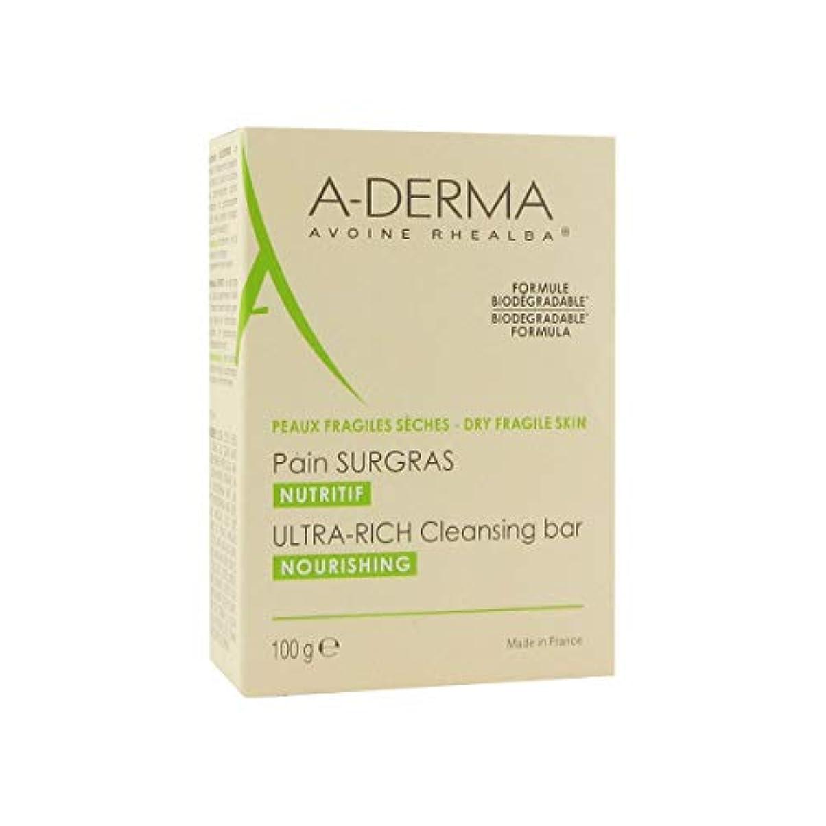 疎外ヤギ対抗A-derma Ultra-rich Cleansing Bar 100gr [並行輸入品]