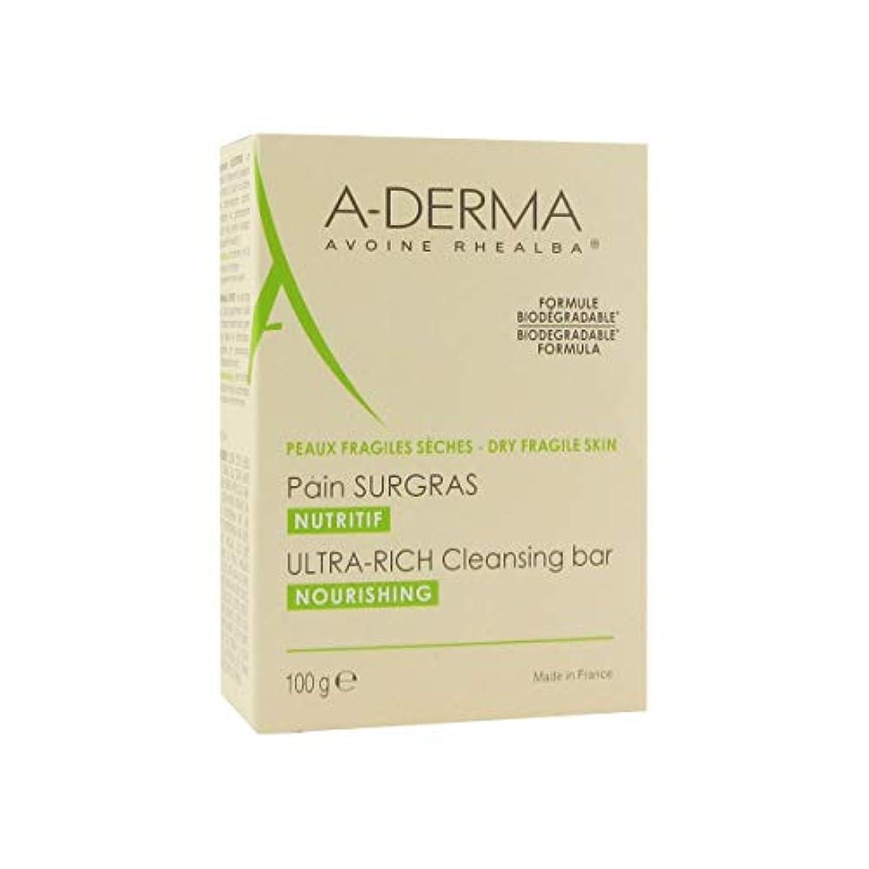 クラウドアルバニー家庭A-derma Ultra-rich Cleansing Bar 100gr [並行輸入品]