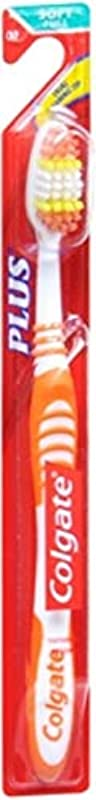 道を作る安価な繰り返したColgate プラス歯ブラシソフト全1各(7パック)