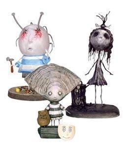 おもちゃ Tim Burton ティム・バートン Pvc Set No. 3 Oyster Boy ホビー フィギュア トイ 模型 [並行輸入品]