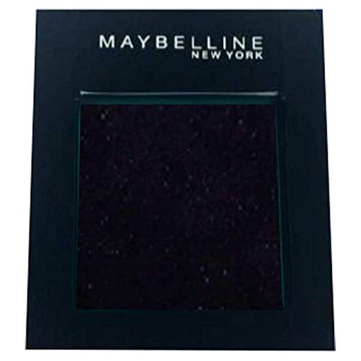 結晶新鮮な面積[Maybelline ] メイベリンカラーショーシングルアイシャドウ125の夜 - Maybelline Color Show Single Eyeshadow 125 Night [並行輸入品]
