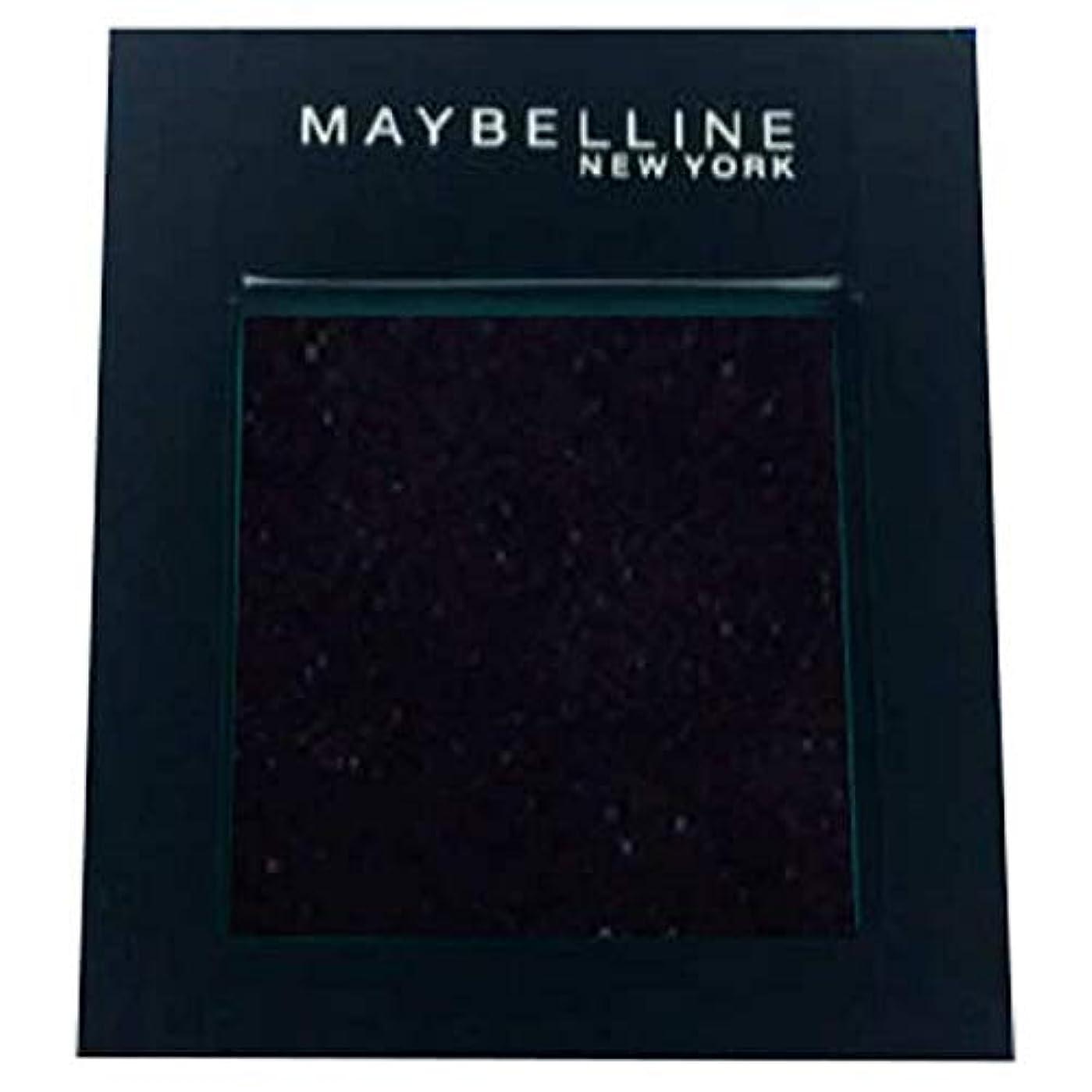 化粧批判的に礼儀[Maybelline ] メイベリンカラーショーシングルアイシャドウ125の夜 - Maybelline Color Show Single Eyeshadow 125 Night [並行輸入品]