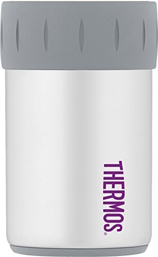 THERMOS ジャストフィット缶クーラー ホワイト 2704WH6 [並行...