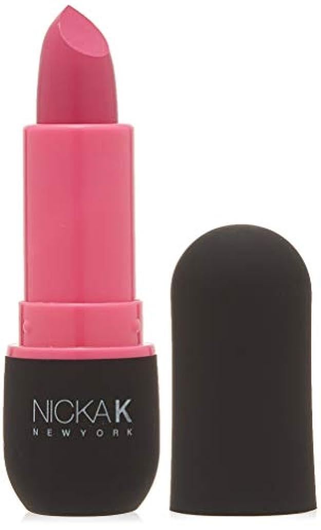 ロンドンレディ精通したNICKA K Vivid Matte Lipstick - NMS06 Hot Pink (並行輸入品)
