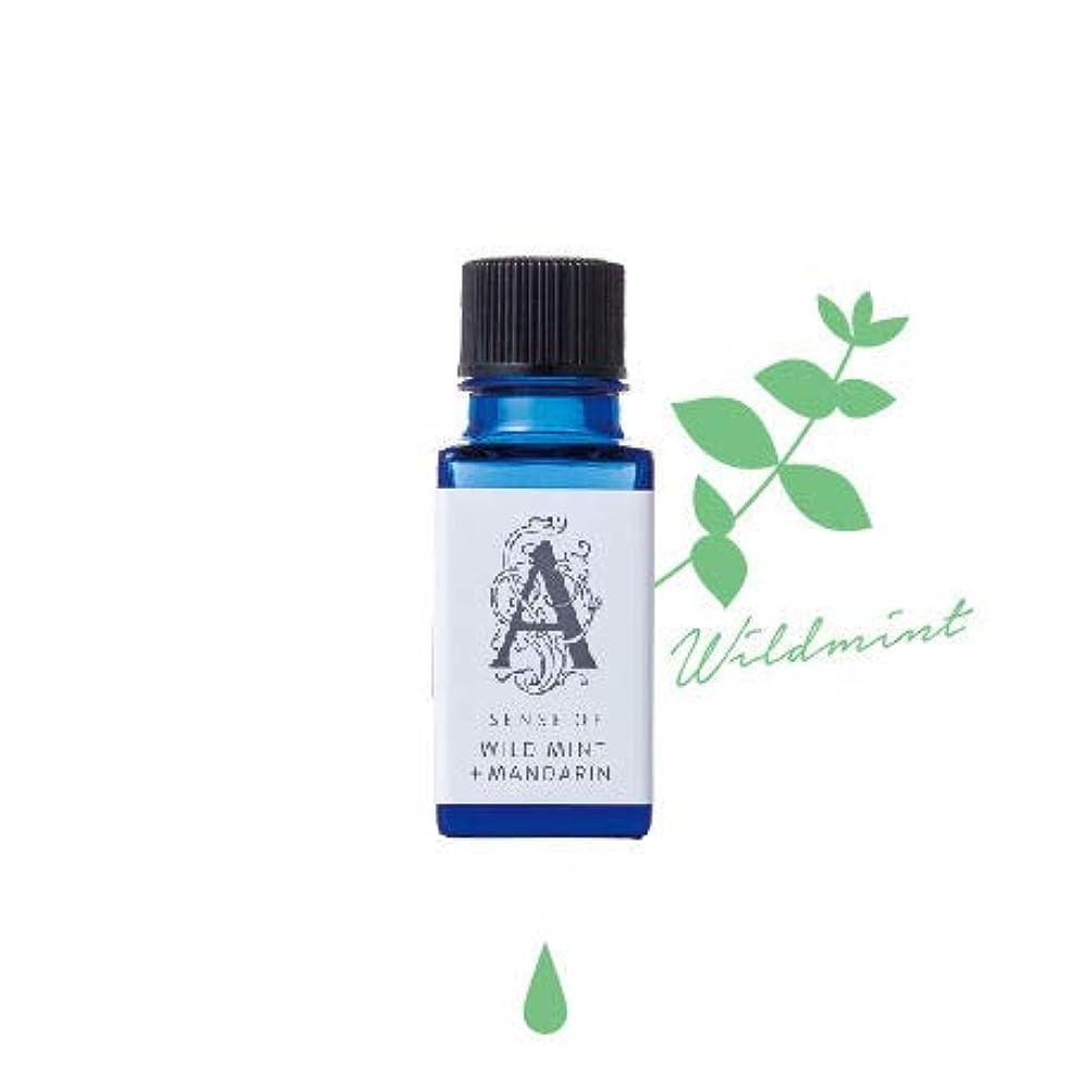 強制的比較的抑制するアロマホリック 水溶性アロマオイル 10ml ワイルドミント&マンダリン