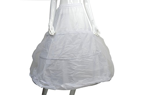 High quality elastic waist bride wedding dress style pania 3 rim Pannier cosplay beautiful fashion dress hzk-618