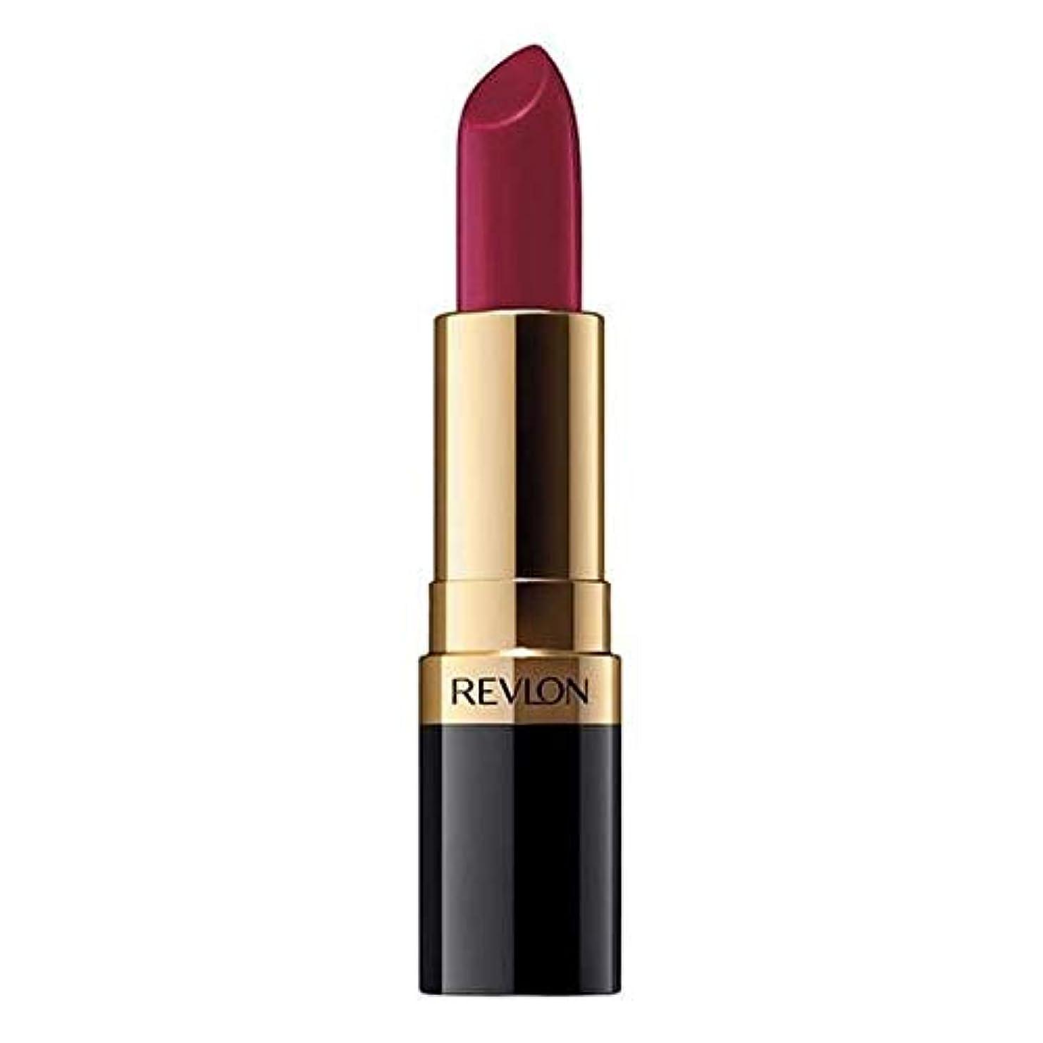 レトルト気性レイアウト[Revlon ] 赤レブロンSuperlustrous口紅爆弾 - Revlon SuperLustrous Lipstick Bombshell Red [並行輸入品]
