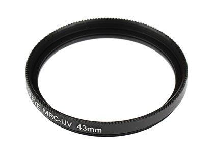 FUJIFILM X-Pro2 Graphite Edition(フジノンレンズ XF23mmF2 R WR)用 互換マルチコートUVレンズ保護フィルター 43mm
