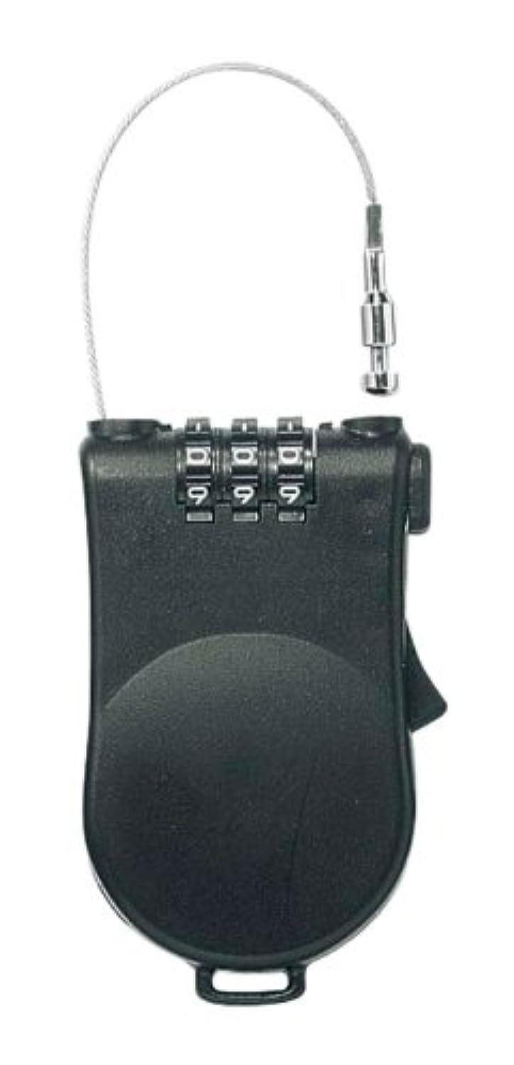 清める含めるしたいキャプテンスタッグ(CAPTAIN STAG) ダイヤルワイヤーロック 120cm M-7153
