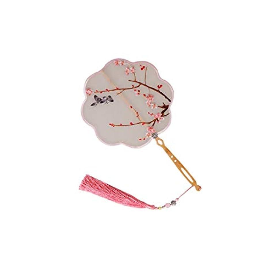 発言する外出ハードウェアKATH ファン、手作り、中国の絹の刺繍のファン、中国の工芸ギフト