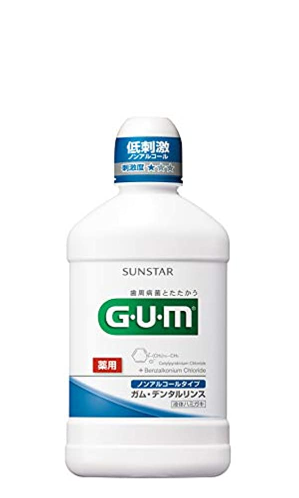 切り離す中級少なくとも[医薬部外品] GUM(ガム) デンタルリンス ノンアルコールタイプ 薬用液体ハミガキ 250ML <歯周病予防 口臭予防>
