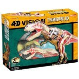 4Dビジョン ティラノサウルス解剖モデル ★Fame Master社  ※臓器は取り外し可能です 【並行輸入】