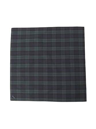 BEAMS ハンカチ タータンチェック ハンカチーフ② メンズ BLACK-WATCH One Size