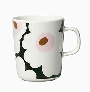 marimekko UNIKKO マグカップ ホワイト×グリーン 49(163) [63431]