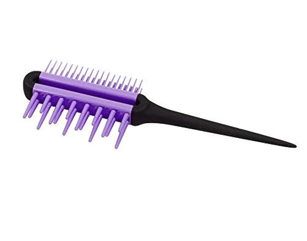 男やもめタクシーパウダーSwissco Pro All-In-One Comb, Purple, 2-pack [並行輸入品]