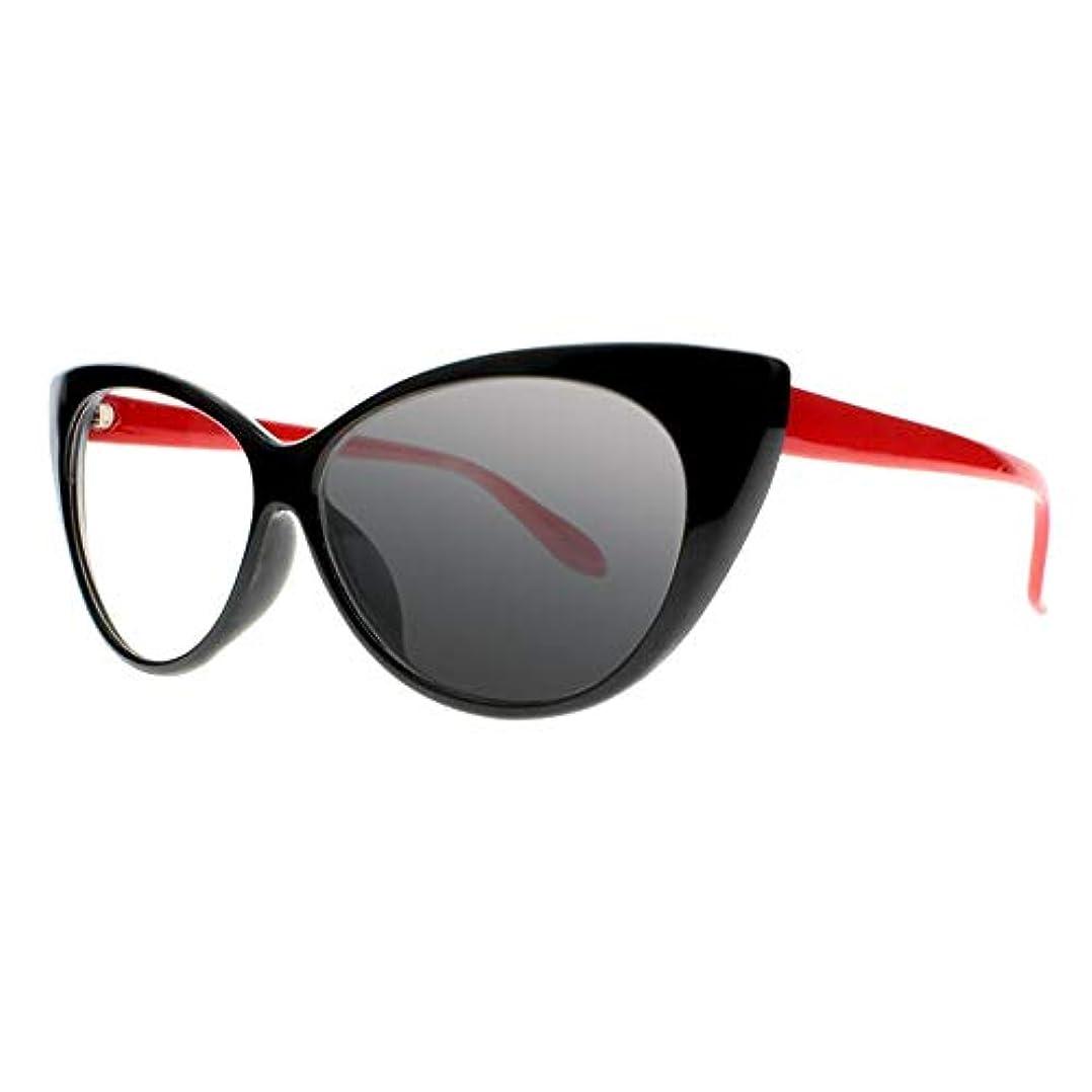 FidgetGear 女性トランジションフォトクロミックサングラスリーダー老眼鏡+1.0?+4.0新 赤
